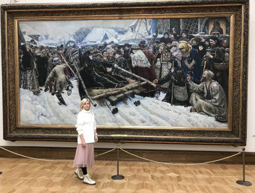"""Запись прямого эфира на тему """"Третьяковская галерея глазами эзотерика"""""""