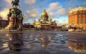 Петербург. День третий месяца июля 13 числа